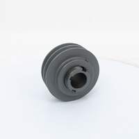 Variable Pitch, 2 Groove Sheave, 3.95