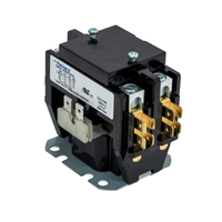Contactor 2 Pole 40 Amps 24 Coil Voltage