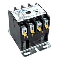 Contactor 4 Pole 30 Amps 120 Coil Voltage