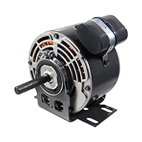 Resilient Base Motor, 1/6 HP, 208-230 Volts, 1550 RPM, Copeland Repl.