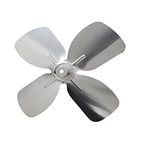 Small Aluminum Fan Blade With Hubs 5-1/2