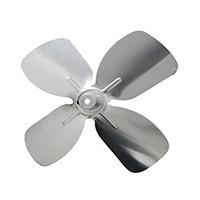 Small Aluminum Fan Blade 3/16