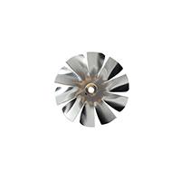 Small Aluminum Fan Blade 1/4