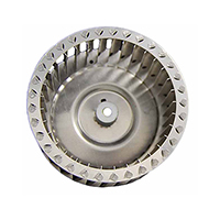 Galvanized Blower Wheel 3.82