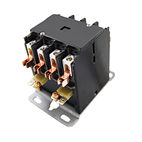 Contactor 4 Pole 30 Amps 24 Coil Voltage