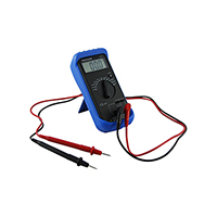 Digital Capacitor Tester, 2 MFD TO 2000 MFD, 9 Volt Battery Incl.