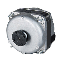 Square Shaded Pole Unit Bearing Motor 18 Watts, 115 Volts, 1550 RPM