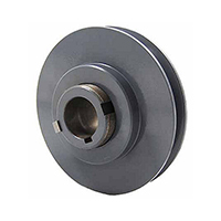 Stock PVP Variable Pitch Single Groove Pulley 3.75