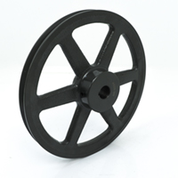 Single Groove Pulleys For 4L Or A Belts 4.45