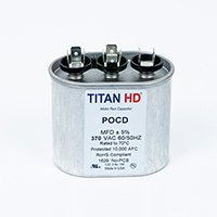 TITAN HD 10+10MFD, 370V Oval