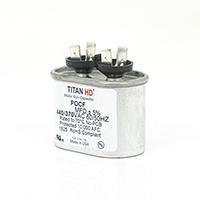 TITAN HD Run Capacitor 5 MFD 440/370 Volt Oval