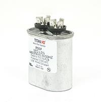 TITAN HD Run Capacitor 7.5 MFD 440/370 Volt Oval