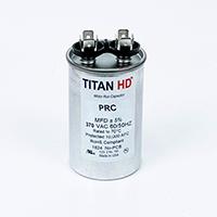TITAN HD Run Capacitor 35 MFD 370 Volt Round