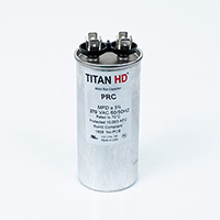 TITAN HD Run Capacitor 55 MFD 370 Volt Round