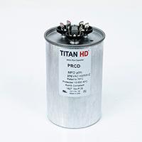 TITAN HD Run Capacitor 80+12.5 MFD 370 Volt Round