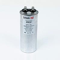TITAN HD Run Capacitor 80 MFD 440/370 Volt Round