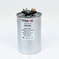 TITAN HD Run Capacitor 80+10 MFD 440/370 Volt Round