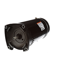 Square Flange Pool Motor Three Phase 208-230/460 Volts 3450 RPM 3 H.P.