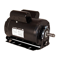 Capacitor Start Resilient Base Motor 115/208-230 Volts 1725 RPM 2 H.P.