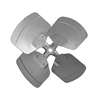 Aluminum Revcor Fan Blade, 4 Blade, 18 in. DIA., CCW, Hubless