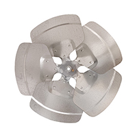 Aluminum Revcor Fan Blade, 5 Blade, 18 in. DIA., CW, Hub on Discharge
