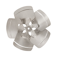 Aluminum Revcor Fan Blade, 5 Blade, 18 in. DIA., CW, Hubless