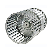 Revcor Double Inlet Blower Wheel, 8-1/2 in. DIA., 1/2 Bore, CW, Tab Lock