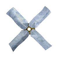 Galvanized Revcor Fan Blade, 4 Blade, 24 in. DIA., CW, KH/KC Fan, Hubless
