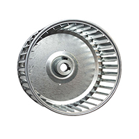 Revcor Single Inlet Blower Wheel, 4 1/4 in. DIA., 5/16 Bore, CCW,
