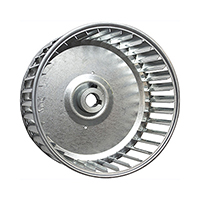 Revcor Single Inlet Blower Wheel, 4 1/4 in. DIA., 3/8 Bore, CW,