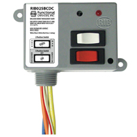 Enclosed Relay 20A SPDT 208-277Vac Class 2 Dry Contact + Override