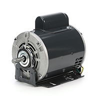 48 FR Capacitor Start Fan and Blower Duty Mtr, 1/3 HP, 1725 RPM, 115/230 V