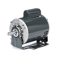 56Z FR Capacitor Start Fan and Blower Duty Mtr, 1/2 HP, 1725 RPM, 115/230 V