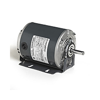 56 Frame Split Phase Fan and Blower Duty Motor, 3/4 HP, 1725 RPM, 115 Volts