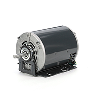 48Z Frame Split Phase Fan and Blower Duty Motor, 1/2 HP, 1725 RPM, 115 Volt
