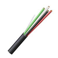 TCC Wire 14/4 Cu PN PVC Blk 50ft Coil