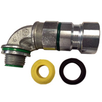CONNECTOR, 90 DEGREE TECK5090