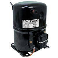 Recip. A/C Compressor, R-22 Systems, 12,000 BTU, 208/230-1-60, POE Oil