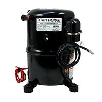 Recip. A/C Compressor, R-22 Systems, 18,800 BTU, 208/230-1-60, POE Oil