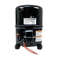 Recip. A/C Compressor, R-22 Systems, 57,000 BTU, 460-3-60, POE Oil