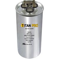 TITAN PRO Run Capacitor 80+10 MFD 440/370 Volt Round