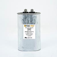 TITAN PRO Run Capacitor 50 MFD 440/370 Volt Oval