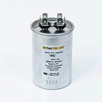TITAN PRO Run Capacitor 25  MFD 370 Volt Round