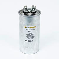 TITAN PRO Run Capacitor 80 MFD 370 Volt Round