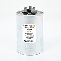 TITAN PRO Run Capacitor 35+5 MFD 370 Volt Round