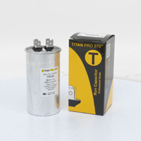 TITAN PRO Run Capacitor 50 MFD 370 Volt Round