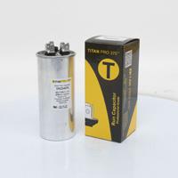 TITAN PRO Run Capacitor 40+7.5 MFD 370 Volt Round