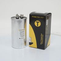 TITAN PRO Run Capacitor 70+10 MFD 370 Volt Round