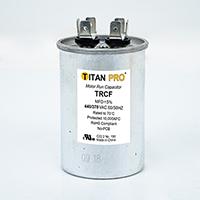 TITAN PRO Run Capacitor 15 MFD 440/370 Volt Round