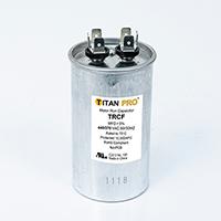 TITAN PRO Run Capacitor 35 MFD 440/370 Volt Round
